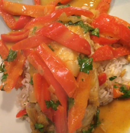 Baked Tilapia Curry | Healthylicious Living